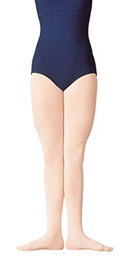 Body Wrappers A80 Womens Supplex Footed Tights (Large/X-Large, Jazzy Tan)  88% Supplex, 12% Spandex  Footed  Knit-in waistband  Dyed to match CoolMax gusset