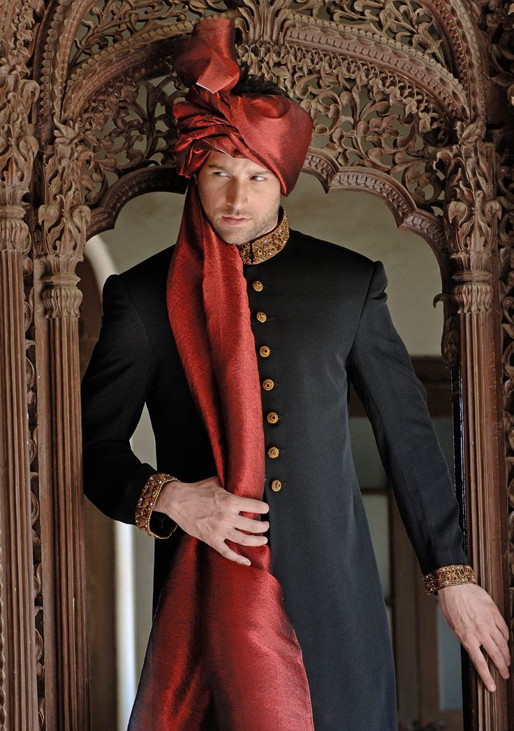 Black Suiting Traditional Cut