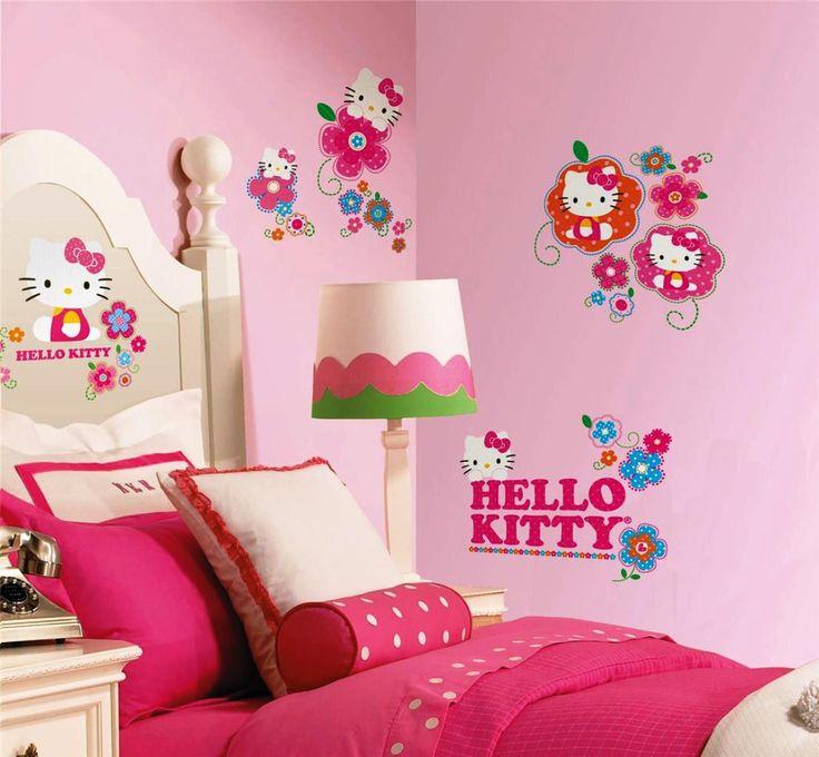 hello kitty decor hello kitty bedroom pink hello kitty kitty theme