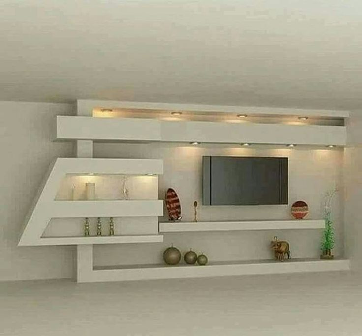 15 Serenely TV Wall Unit Decoration You Need to Check gypsum