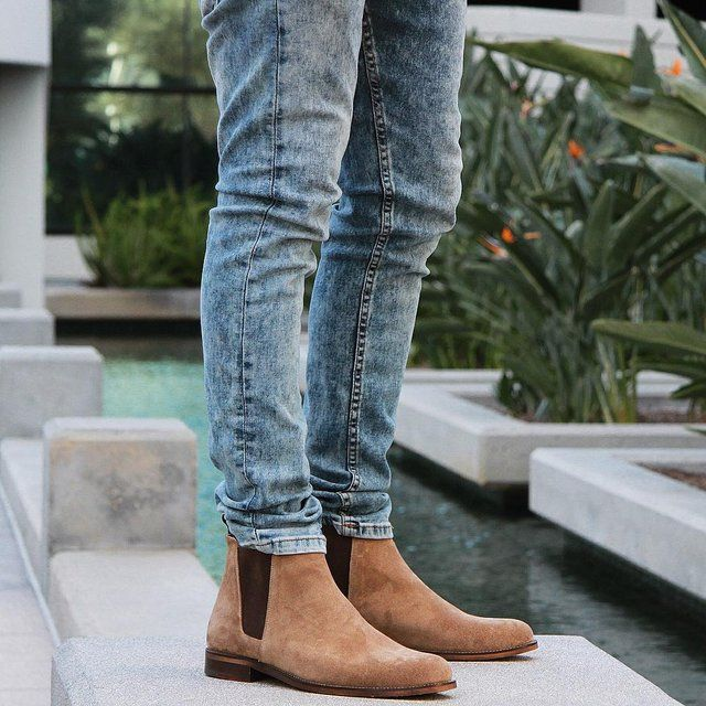 Fancy - The Tan York Chelsea Boots by Oro Los Angeles