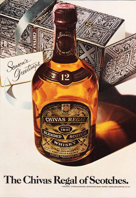 1978 Chivas Regal Whiskey Advertisement Season S