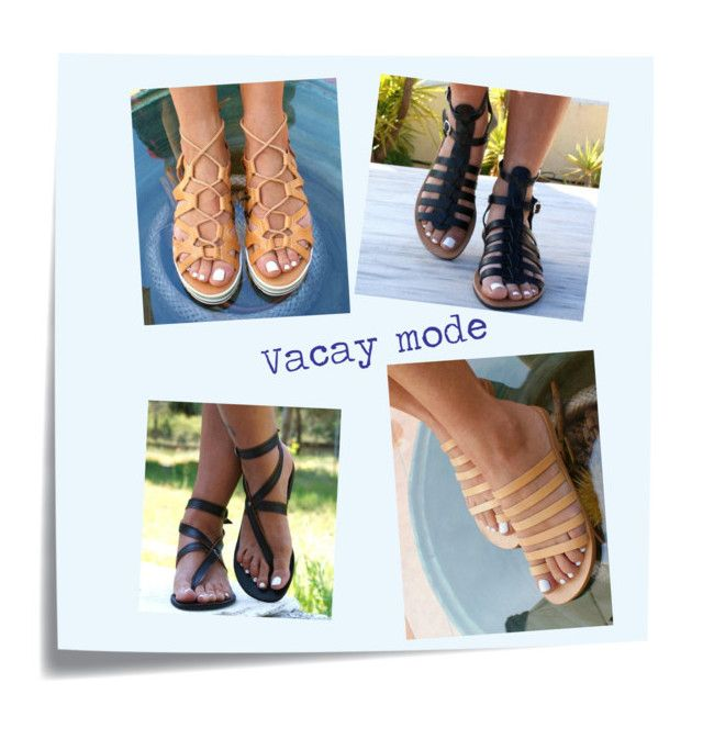 """""""vacay mode"""" by lola35fab on Polyvore featuring Post-It"""