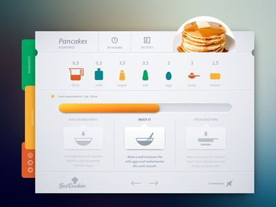 Dribbble - Get Cooking by Cosmin Capitanu