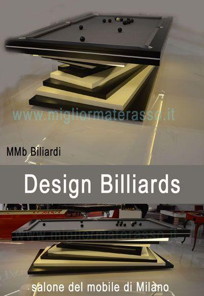 Biliardo di design da Mbm Biliardi beautiful pool billiards