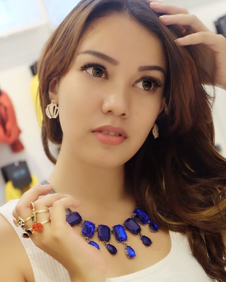 A woman makes an outfit her own with accessories  Accessories by BLING! TSM 1st Floor