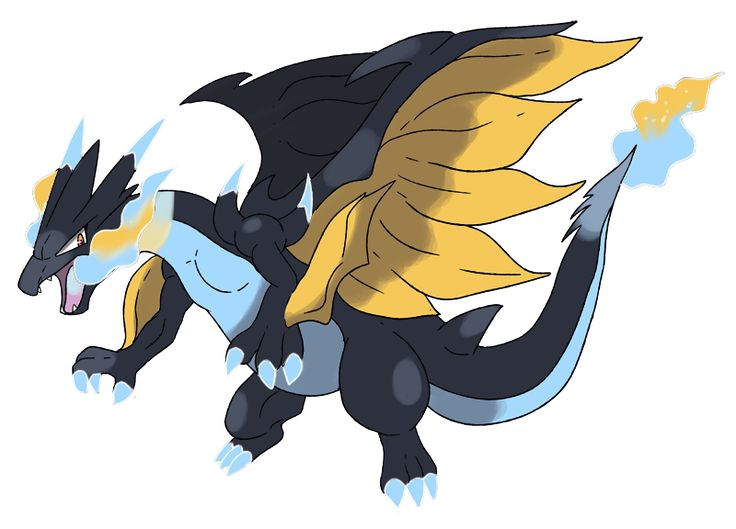 Mega charizard z by on - Mega evolution dracaufeu ...