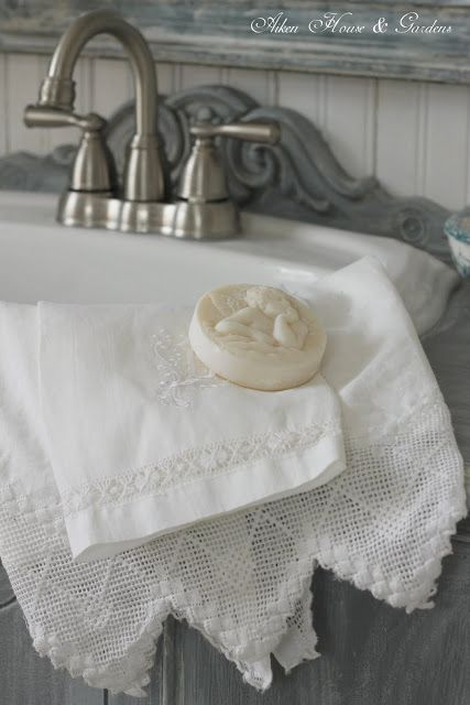 Bathroom towels. Perferably brown so they dont look grey after a month?