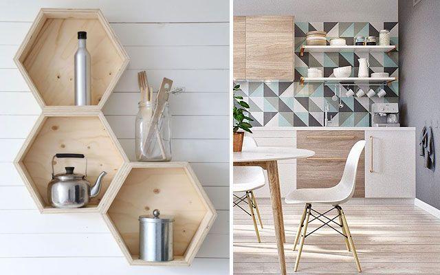 | Ideas para decorar paredes de cocinas- Decofilia