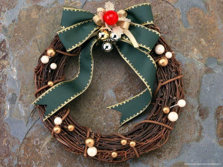 Рождественский венок на дверь своими руками - Сундук идей для вашего дома - интерьеры, дома, дизайнерские вещи для дома