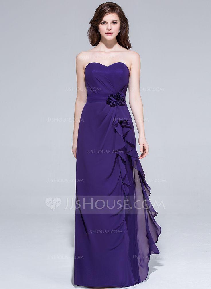 19 best vestidos images on Pinterest | Wedding party dresses, Flower ...