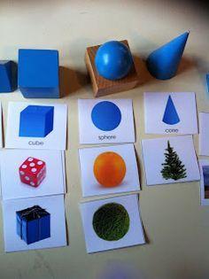 Classer les solides géométriques