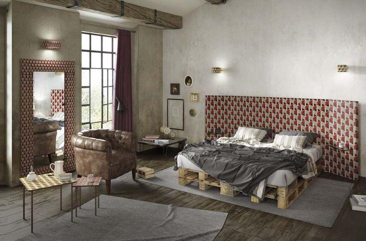 Momenti | ZONA NOTTE | BEDROOM | For more info call 01242 251 825 or email rooms@moretti-rosini.com (Specchio/Mirror Art. SP-43T | Tavolini/Coffee Tables Art. Q-32A, Q-52B | Pensili/Hung Cabinets Art. BS-7B | Testata letto/Headboard Art. TS-8B | Applique Art. LX-1A, LX-3A)