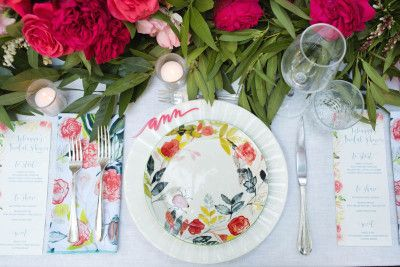 Autumn Entertaining: A Romantic Southern Bridal Shower with Annie Campbell – The Decor