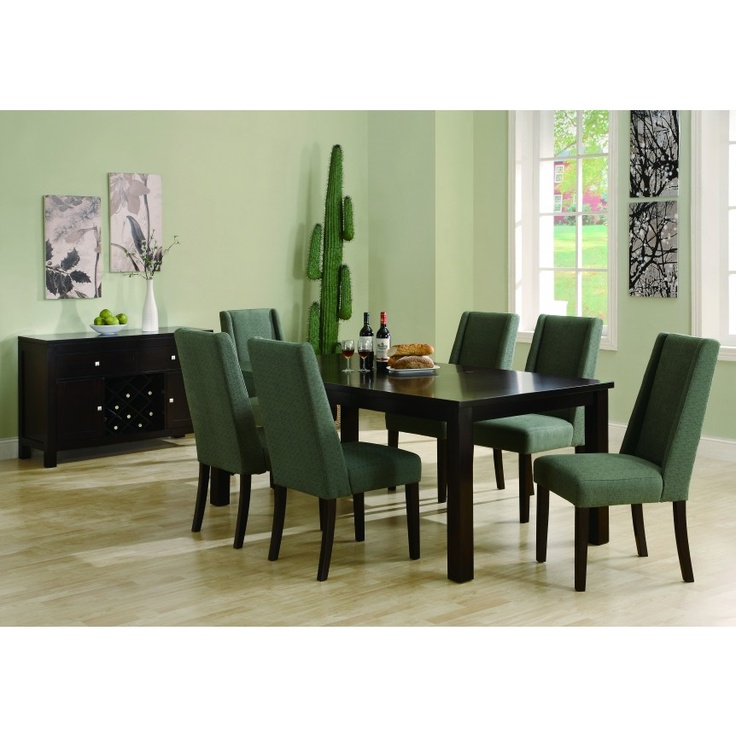 Teal Dining Room: Monarch Teal Green Dining Chair