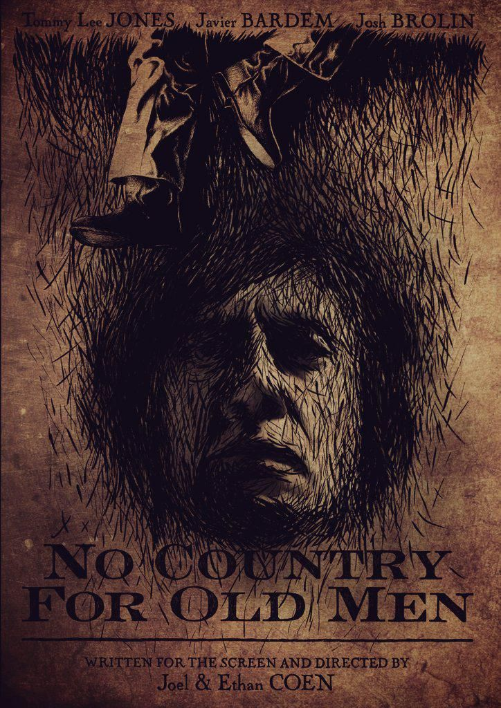 Andrew Rowland's #filmdoocreativity entry for No Country For Old Men