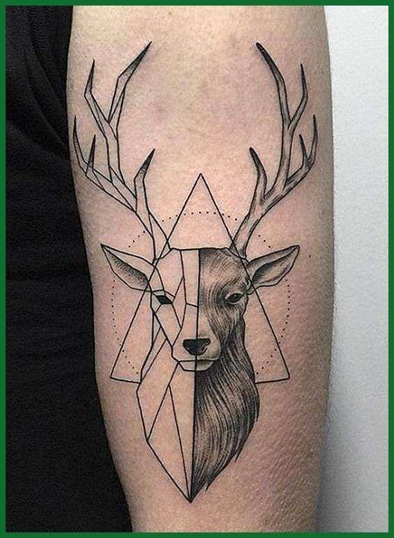 Tattoo Idea Hirsch Tattoo Hirschkopf Tattoo 6