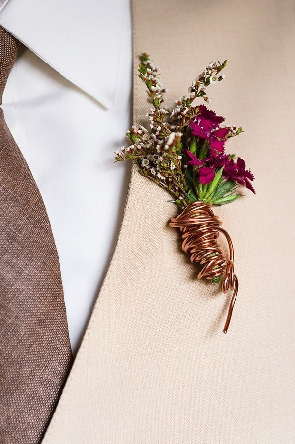 Bronze & Copper Wedding Color Ideas
