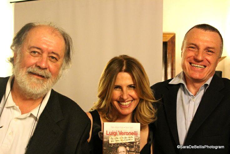 Con Nichi Stefi e Gian Arturo Rota per la presentazione del libro di Veronelli