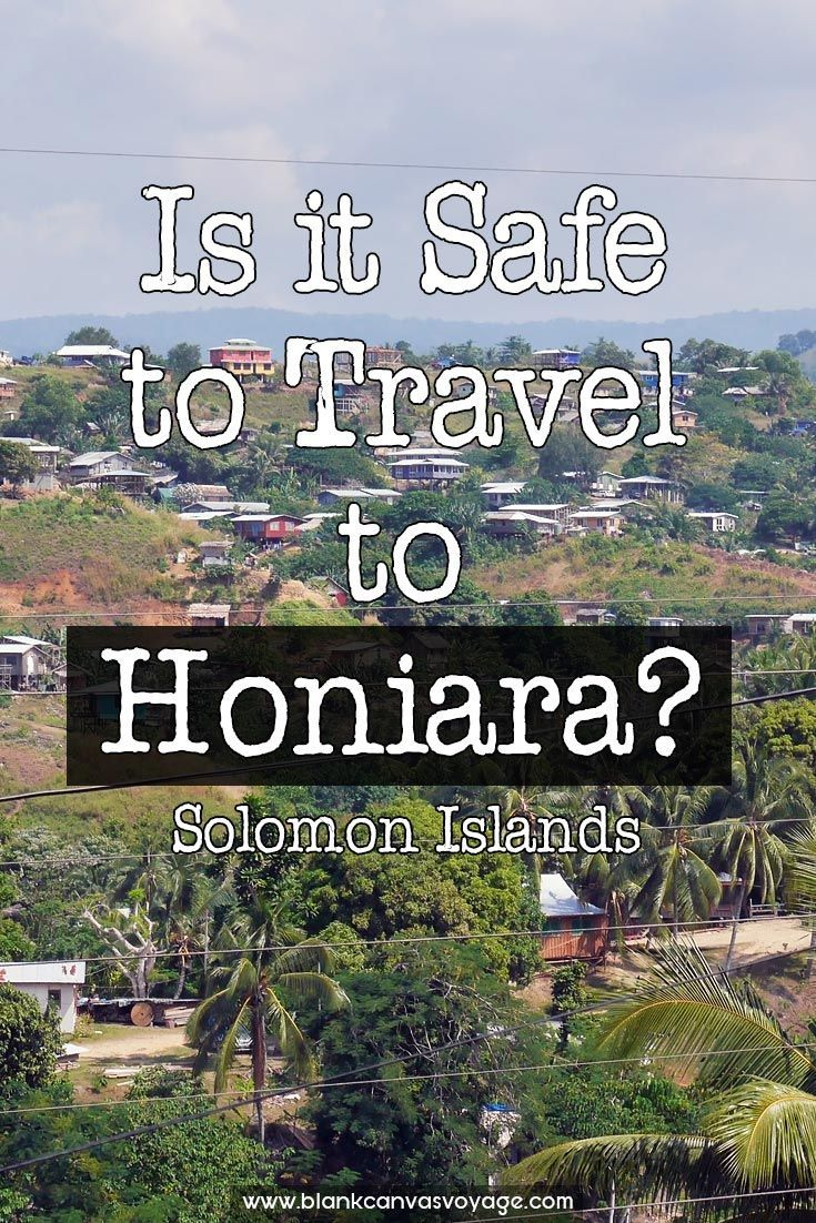 The variety of cultures and customs is striking, and the traditional ways are remarkable alive. The bustling atmosphere gives a real taste of what is life like for Solomon Islanders. Read More: http://blankcanvasvoyage.com/solomon-islands/safe-travel-honiara/