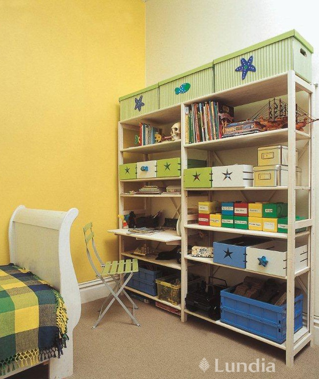 Kids Room #sustainable Lundia shelving