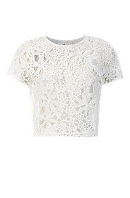 Lace Cropped Top from Mr Price R99,99