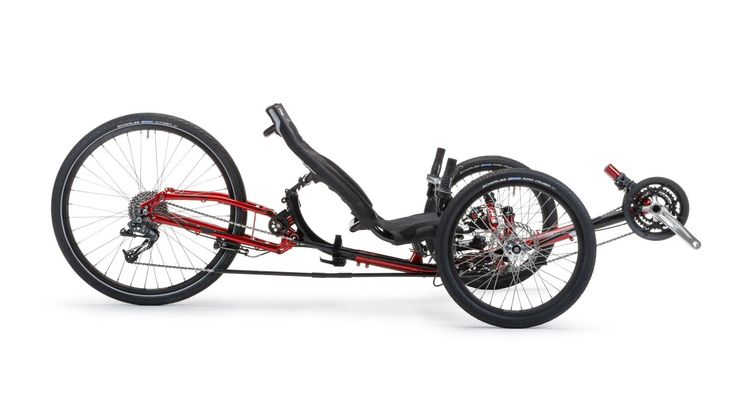 Ice Sprint Recumbent Bicycle Tricycle Bicycle