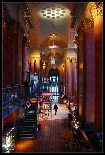 The Royal Exchange Theatre. Manchester UK. by Eddie Hales, via Flickr
