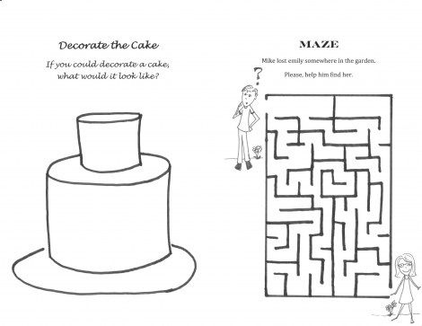 Wedding Maze For Kids Don't forget about the kids at