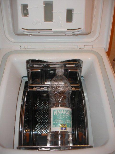 vinaigre anticalcaire pour le lave-linge