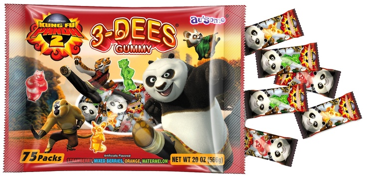 Kung Fun Panda Crunchies & Gummies