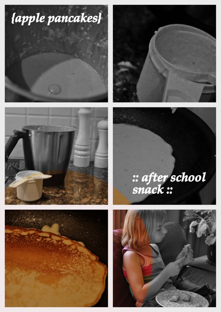 apple pancakes thermomix or blender style