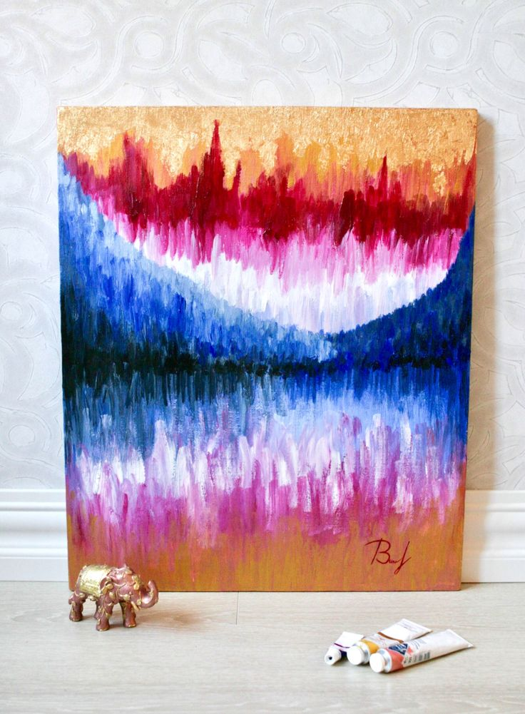 Art potion Gallery,  Original art, abstract painting, acrylics on canvas