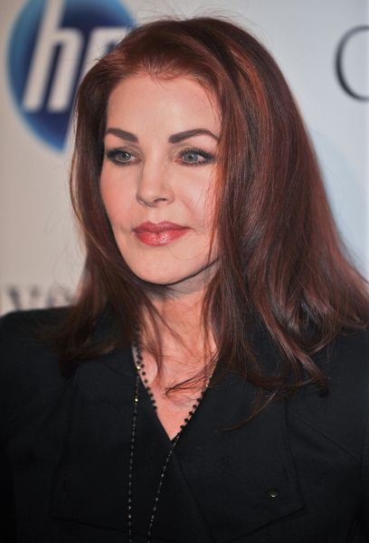 Priscilla Presley plastic surgery. She was so beautiful but I guess age catches up to all of us.
