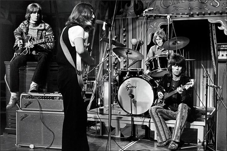 eric clapton, john lennon, mitch mitchell, keith richards 1969