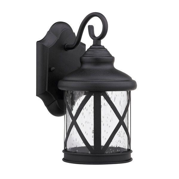 Chloe Transitional 1-light Black Outdoor Light #outdoorlightfixtures