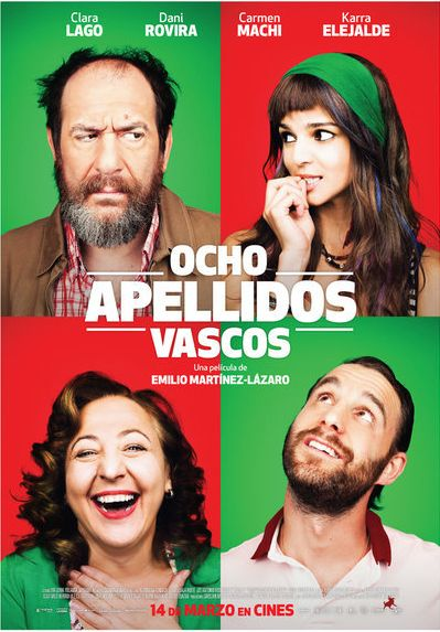 Ocho apellidos vascos (2014) película española dirigida por Emilio Martínez-Lázaro.