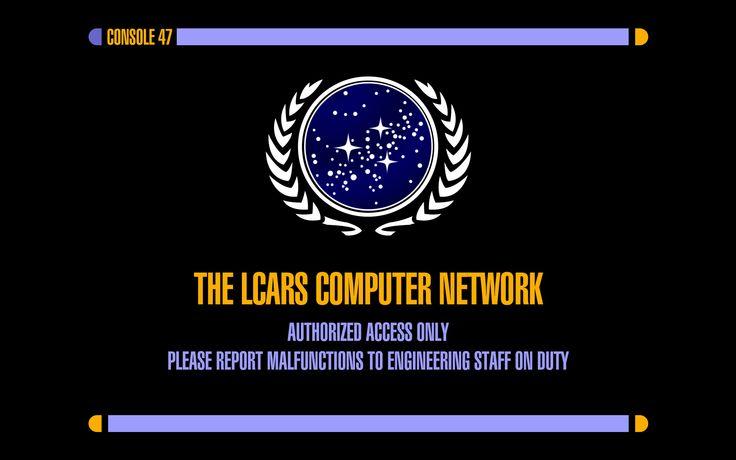 Star Trek Screensavers For Windows 10: Star Trek LCARS Wallpaper