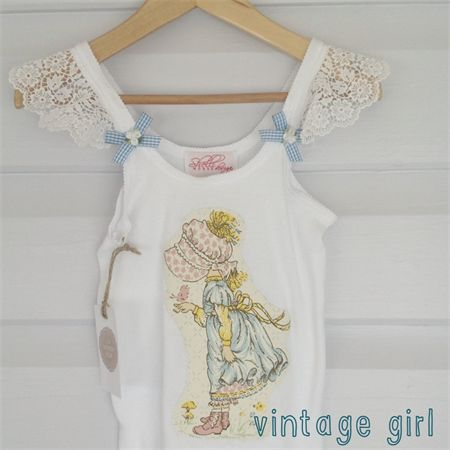 Vintage Girl singlet 6/8