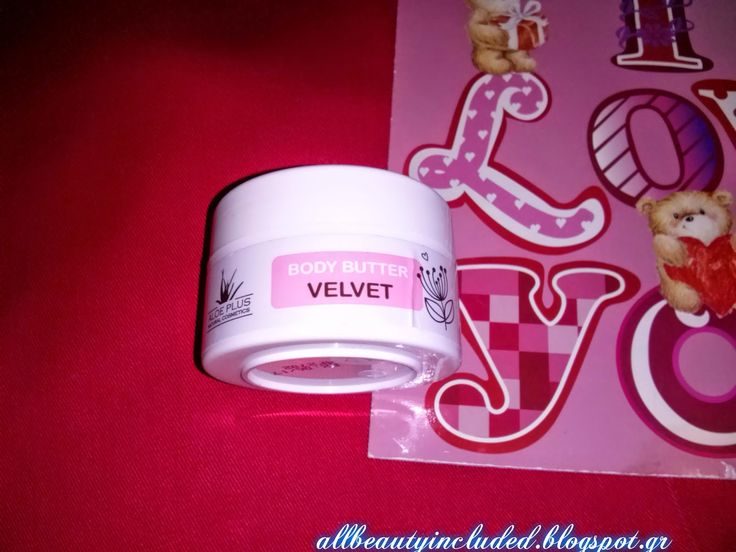 All Beauty Included: Review :Aloe Plus Body Butter Velvet!!!