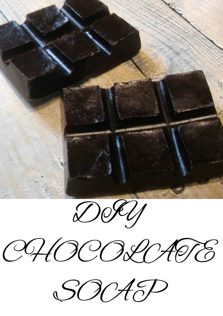 CZEKOLADOWE MYDŁO  Domowe mydło czekoladowe Mydło glicerynowe Pomysł na prezent  CHOCOLATE SOAP Homemade chocolate soap Glycerin soap An idea for a gift