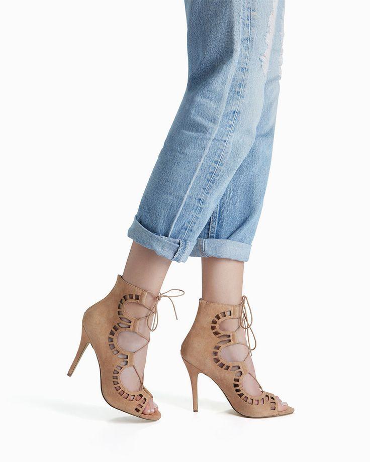 Romy Lace Up Heel