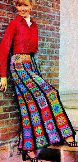 Почти цыганская юбка