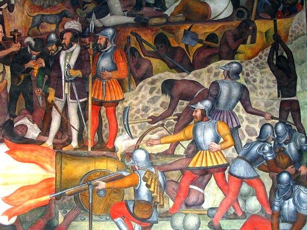17 best images about cort s on pinterest official for Diego rivera la conquista mural