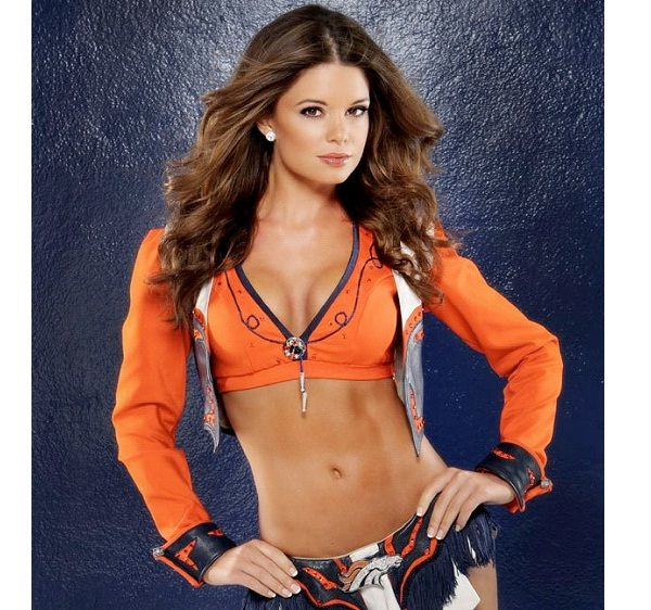 Denver Broncos Cheerleaders-Hottest Cheerleader Squads