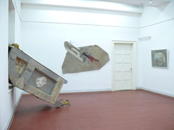 Szabó Zoltán Judóka: Kiállításrészlet, Kultúrpalota, Marosvásárhely, 2010