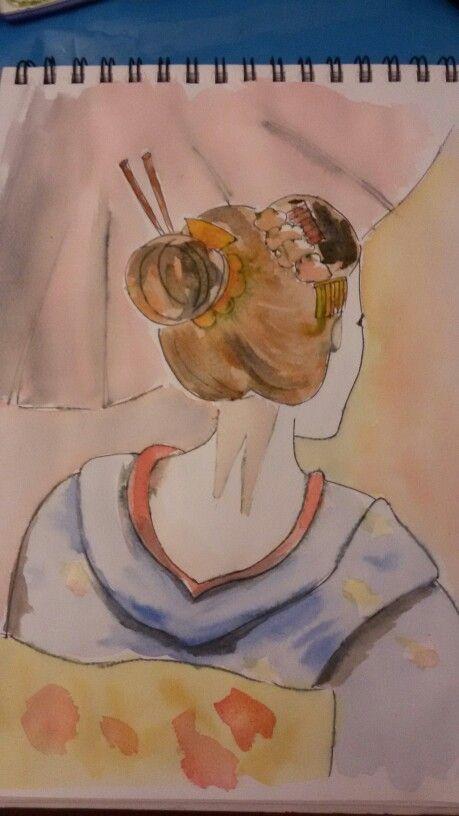 #geisha #sketching