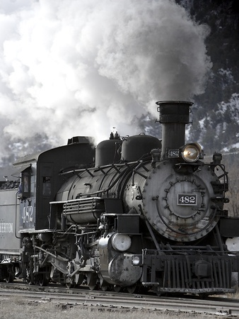Steam Train...Would love to take a train journey...miss the train rides of my childhood..crl