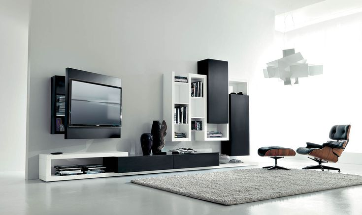 Fimar - italian furniture, adjustable TV-racks, TV stands, modern living area, design beds, wardrobes with TV
