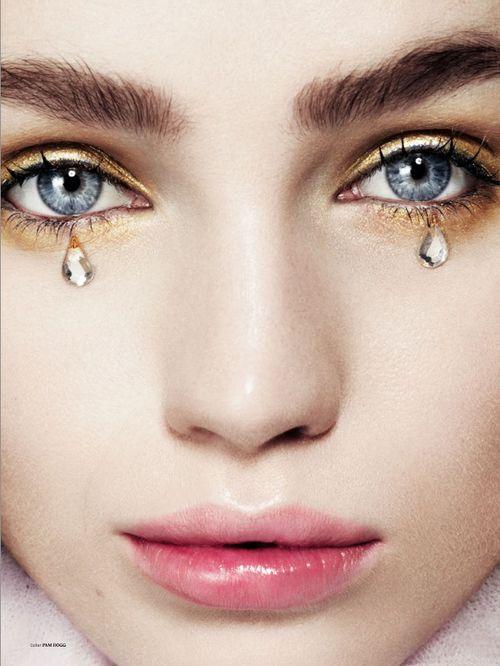 Diana Farkhullina by Brendan Freeman for Used Magazine S/S 2013.